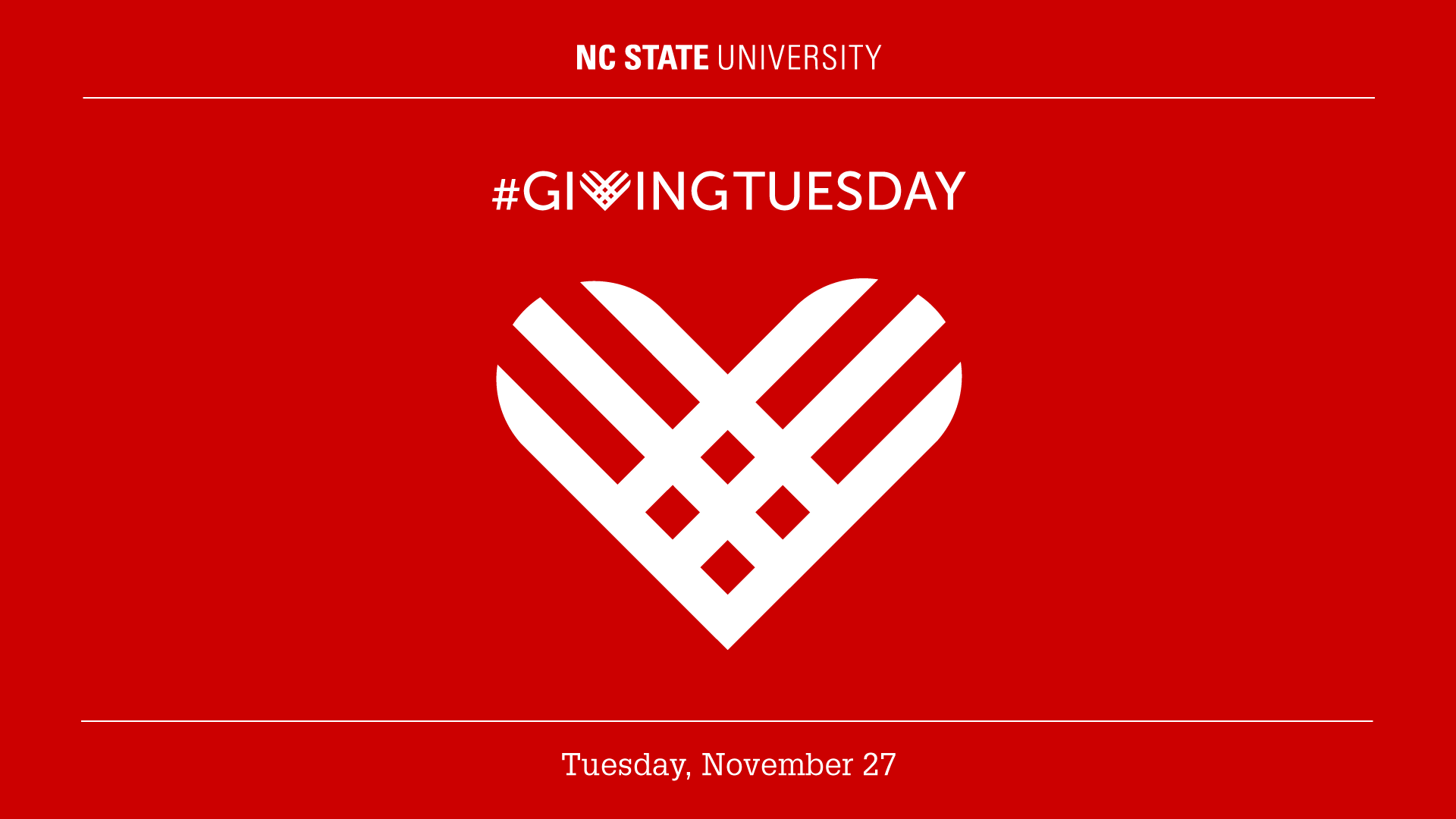 NC State Giving Tuesday
