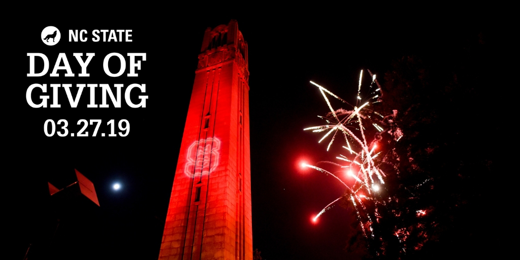 Day of Giving Belltower and Fireworks