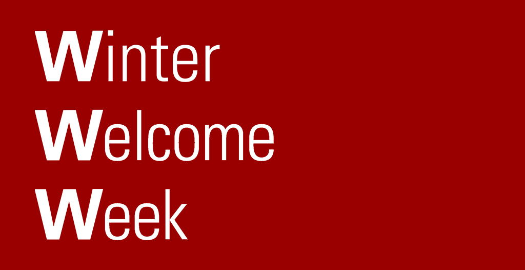 Winter Welcome Week graphic