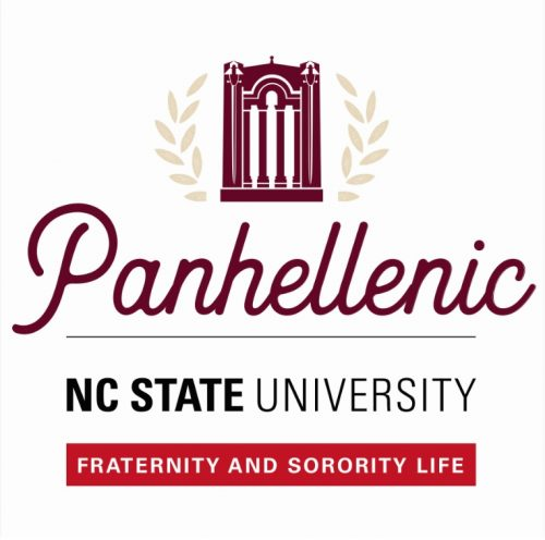 Logo for the Panhellenic community at NC State
