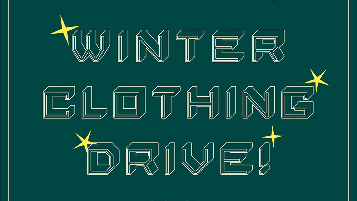Logo for the winter clothing drive