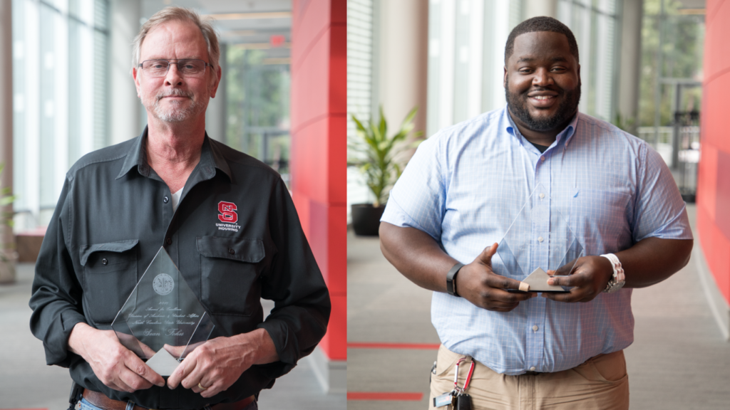 Fokes, Jackson named NC State Award for Excellence