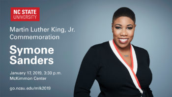 Symone Sanders to Speak at MLK Commemoration