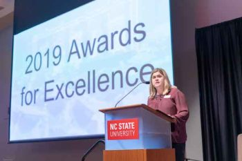 2019 DAS Awards for Excellence photo of presentation.