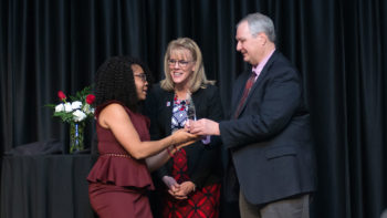 Bri Elum honored at 2019 Sisterhood Dinner with Equity for Women Award