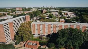 University Housing Residence Halls from Done